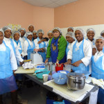Cooking training sponsored by NLDTF